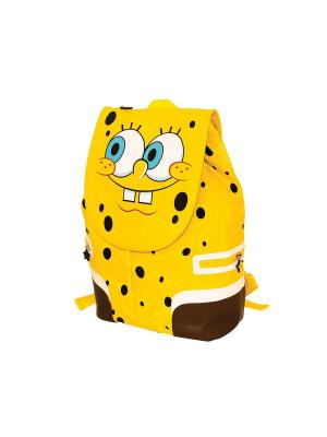 Рюкзак Губка Боб Gulliver. Цвет: желтый, коричневый