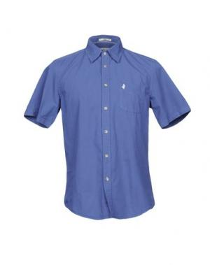 Pубашка MCS MARLBORO CLASSICS. Цвет: синий