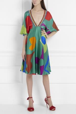 Платье Jenny Packham. Цвет: multicolor