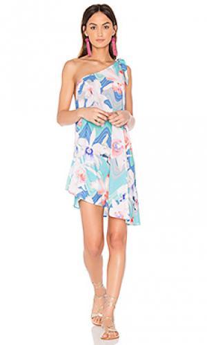 Платье-накидка happy hour 6 SHORE ROAD. Цвет: розовый