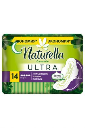 Прокладки  Ultra 14 шт NATURELLA. Цвет: none