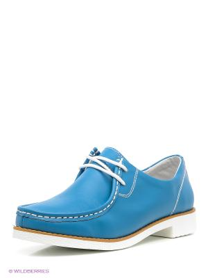 Ботинки Sinta Gamma. Цвет: синий