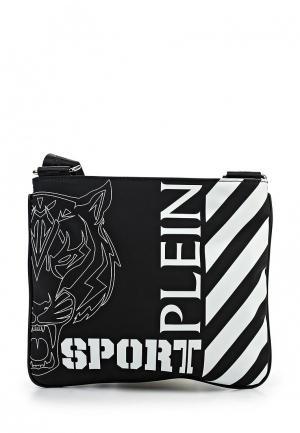 Сумка Plein Sport. Цвет: черный