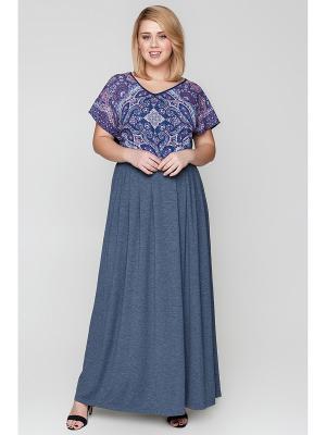 Блузка Bestiadonna. Цвет: темно-синий