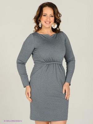 Платье Marlen. Цвет: серый