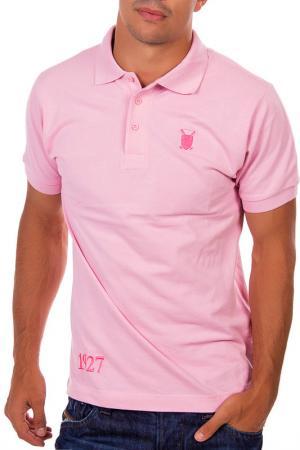 Поло POLO CLUB С.H.A.. Цвет: розовый