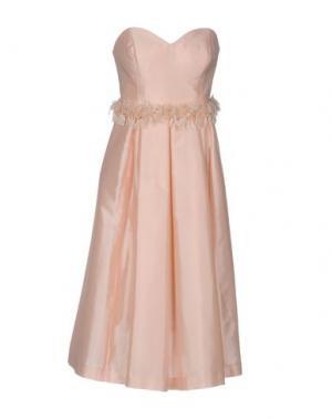 Платье до колена NORA BARTH. Цвет: розовый