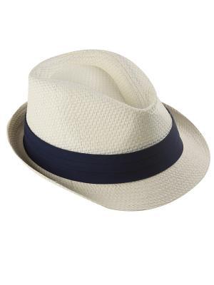 Шляпа Oodji. Цвет: белый