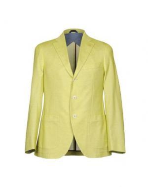 Пиджак SARTORIA LATORRE. Цвет: кислотно-зеленый