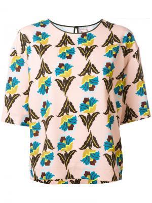 Floral print T-shirt Antonio Marras. Цвет: многоцветный