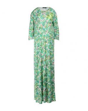 Длинное платье DSQUARED2. Цвет: зеленый