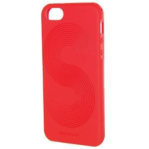 Чехол для iPhone  Полосы 5/5s Красный Skills. Цвет: красный