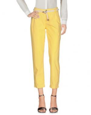 Повседневные брюки FRANKLIN & MARSHALL. Цвет: желтый