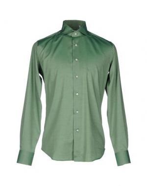 Pубашка LEXINGTON. Цвет: зеленый