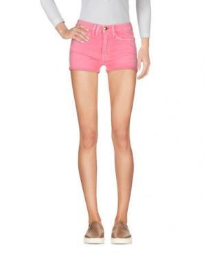 Джинсовые шорты CYCLE. Цвет: розовый