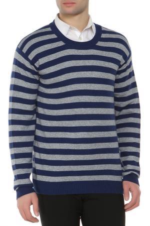 Пуловер Expression. Цвет: серо-синий