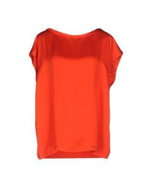 Блузка ATTIC AND BARN. Цвет: коралловый