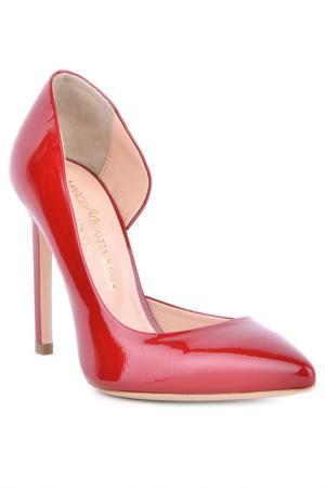 Туфли-лодочки Marco Barbabella. Цвет: красный