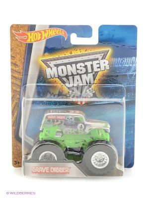 Машинки серии Monster Jam Hot Wheels. Цвет: зеленый