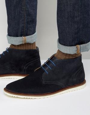 KG Kurt Geiger Замшевые ботинки чукка By. Цвет: синий