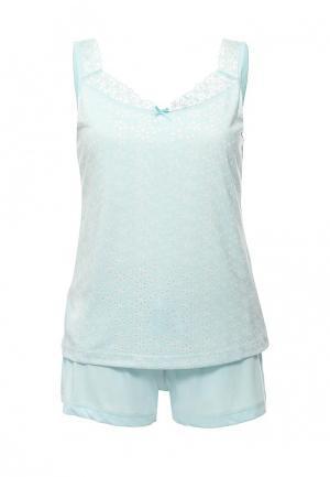 Пижама Relax Mode. Цвет: мятный