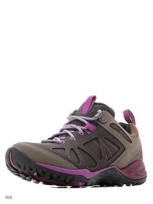 Ботинки MERRELL. Цвет: коричневый, фиолетовый