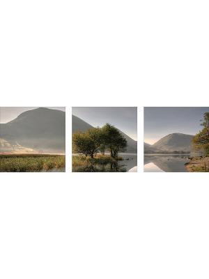 Картина модульная из квадратов 300*300мм ДСТ. Цвет: серый