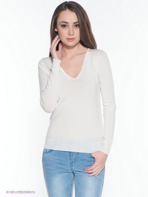 Пуловер INCITY. Цвет: белый