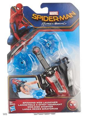Бластеры человека-паука,стреляющие пластиковой паутиной Spider-Man. Цвет: синий, красный
