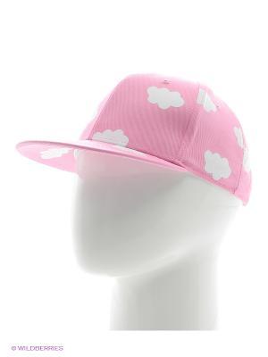 Кепка Облака (розовая) Kawaii Factory. Цвет: розовый, белый