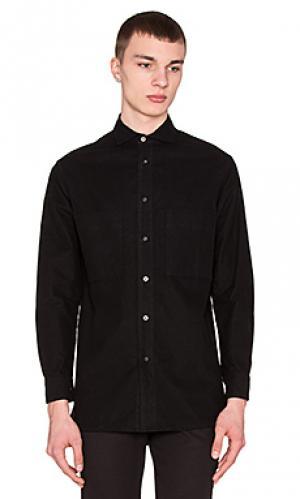 Рубашка с застёжкой на пуговицах utility flannel Wil Fry. Цвет: черный