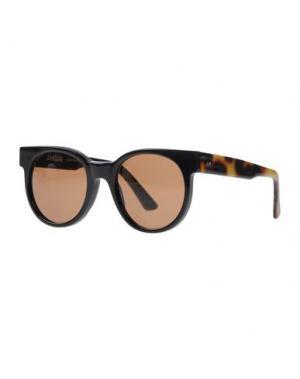 Солнечные очки ZANZAN. Цвет: черный