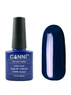 Гель лак №21 CANNI. Цвет: темно-синий