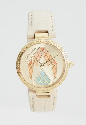 Часы Just Cavalli. Цвет: бежевый