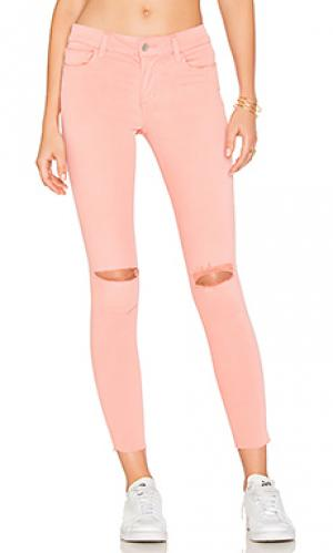 Супер узкие джинсы средняя посадка the icon Joes Jeans Joe's. Цвет: none