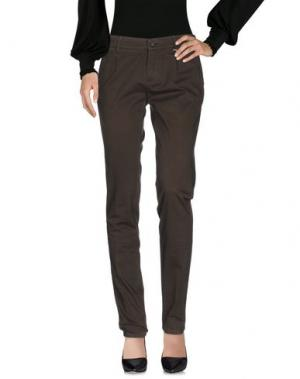 Повседневные брюки GREY DANIELE ALESSANDRINI. Цвет: темно-зеленый
