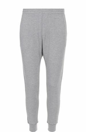 Домашние брюки из вискозы с манжетами Dsquared2. Цвет: серый