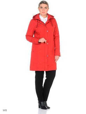 Пальто MARISSA Maritta. Цвет: красный