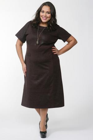 Платье Alain Weiz. Цвет: коричневый