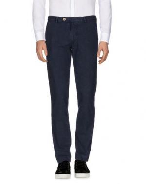 Повседневные брюки BERWICH. Цвет: синий