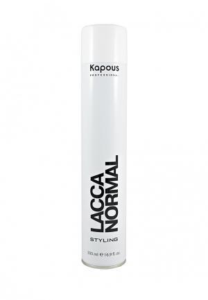 Лак для волос Kapous. Цвет: белый