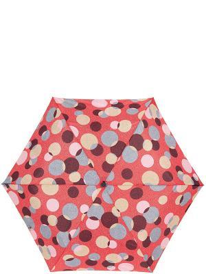 Зонт Labbra. Цвет: темно-коричневый, красный, розовый, серый, темно-бежевый