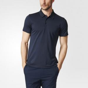 Рубашка-поло Piqué  Porsche adidas. Цвет: синий