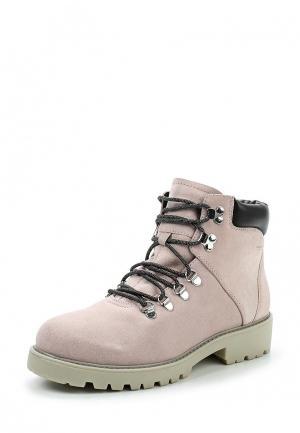 Ботинки Vagabond. Цвет: розовый