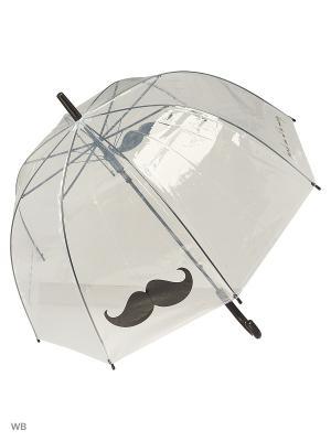Зонт Modis. Цвет: черный, прозрачный
