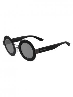 Очки солнцезащитные KL 901S 002 Karl Lagerfeld. Цвет: черный