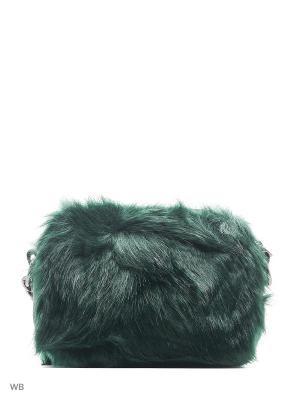 Сумка Fornarina. Цвет: зеленый