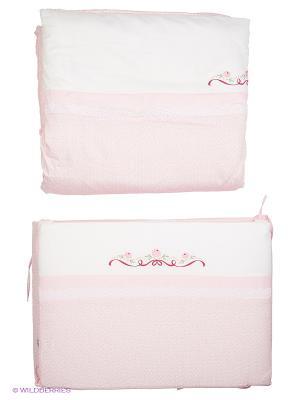 Комплект Прованс 6 предметов Сонный гномик. Цвет: розовый