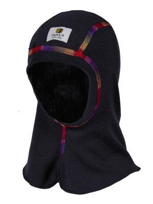Шапка-шлем Janus. Цвет: серый