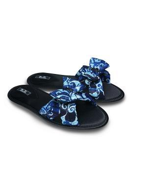 Тапочки Petit Pas. Цвет: синий